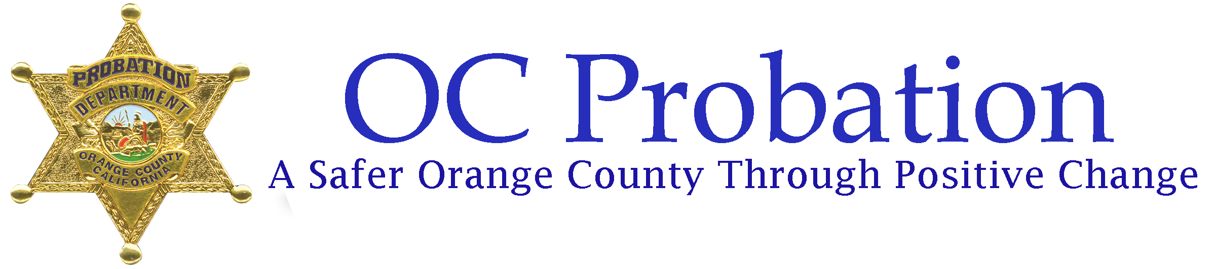 Orange County Probation Department Logo -- Home